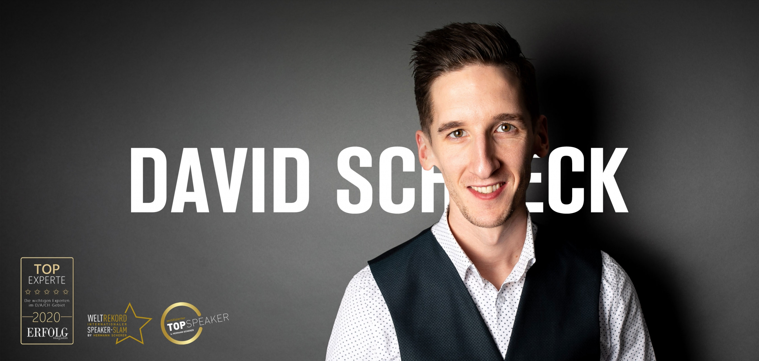 David Schneck - Dein Motivations-Speaker und Coach
